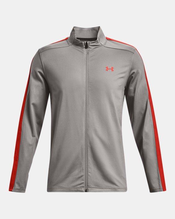 Men's UA Storm Midlayer Full-Zip Golf Jacket, Gray, pdpMainDesktop image number 5