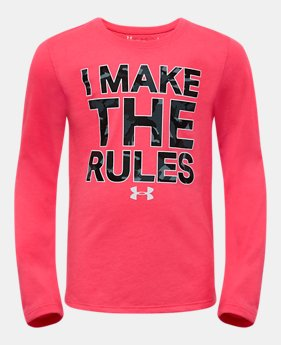6b3b6607a6 Girls' Toddler (Size 2T-4T) Long Sleeve Shirts | Under Armour US