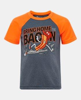 2fcdda698 New Arrival Boys' Infant UA Bring Home The Bacon Raglan Shirt 1 Color  Available $16