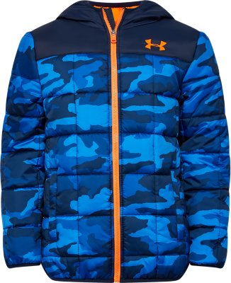 Under Armour Boys Ua Print Masking Sherpa Lined Vest