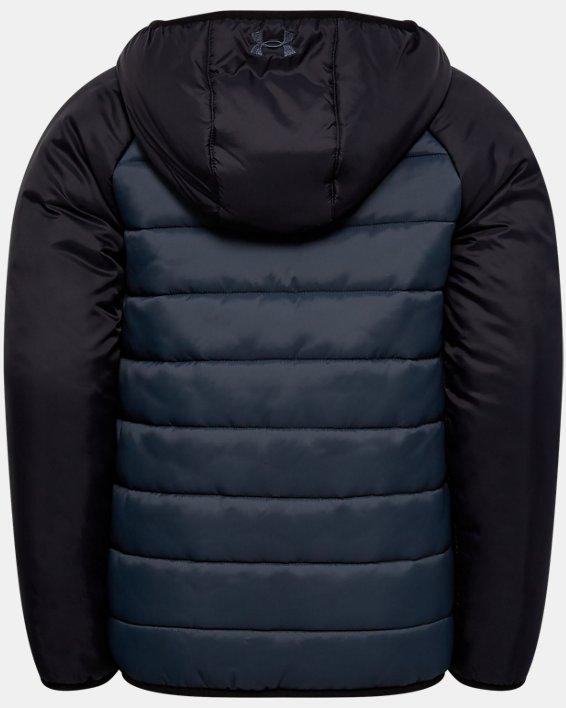 Boys' Toddler UA Pronto Printblock Puffer Jacket, Gray, pdpMainDesktop image number 1