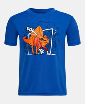4ee47f8dc4c99 New Arrival Boys' Toddler UA Dino Goalie Short Sleeve 1 Color Available $18