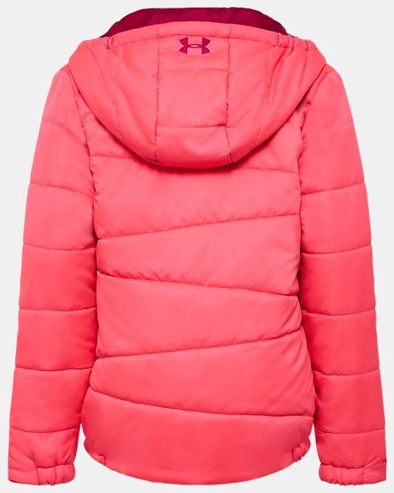 Girls' Toddler UA Prime Puffer Jacket, Pink, pdpMainDesktop image number 1