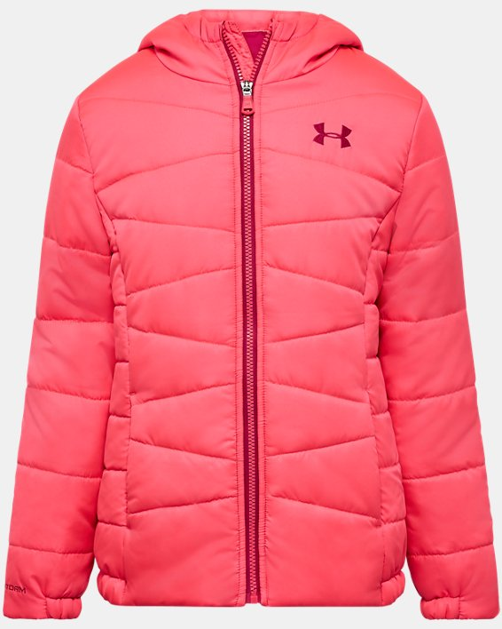Girls' Toddler UA Prime Puffer Jacket, Pink, pdpMainDesktop image number 0