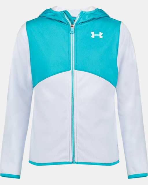 Girls' Pre-School UA Canyon Rim Microfleece Jacket