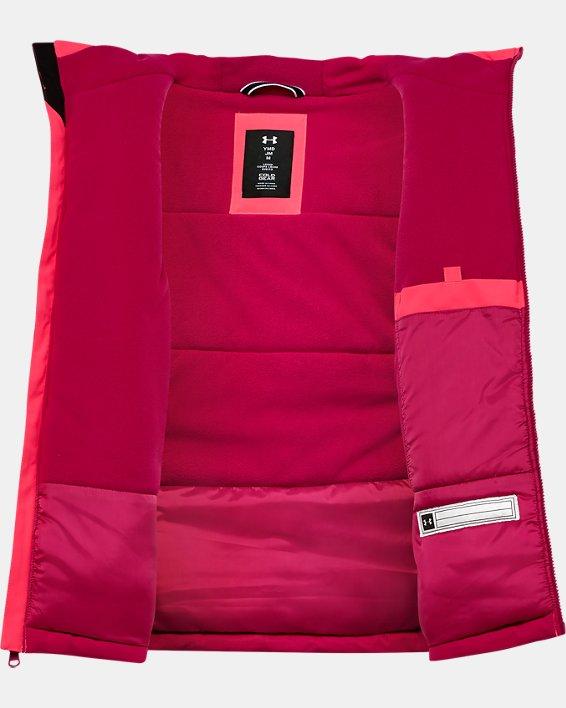 Girls' Pre-School UA Rowyn Jacket, Pink, pdpMainDesktop image number 2