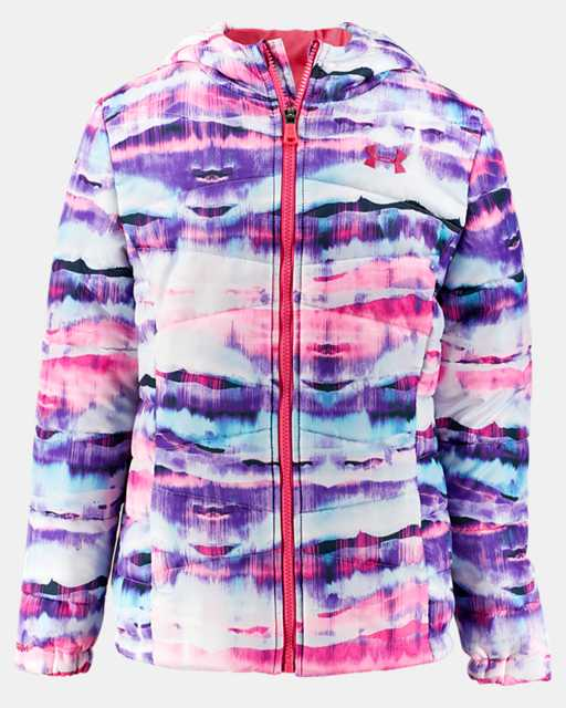 Girls' Pre-School UA Prime Printed Puffer Jacket