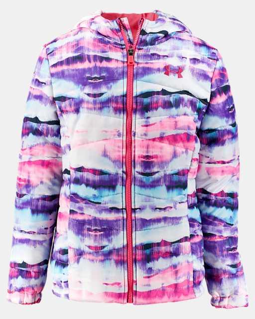 Girls' Pre-School UA Prime Printed Puffer Jacket