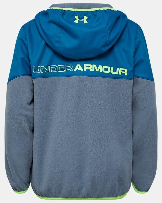 Boys' Pre-School UA North Rim Microfleece Jacket, Gray, pdpMainDesktop image number 1