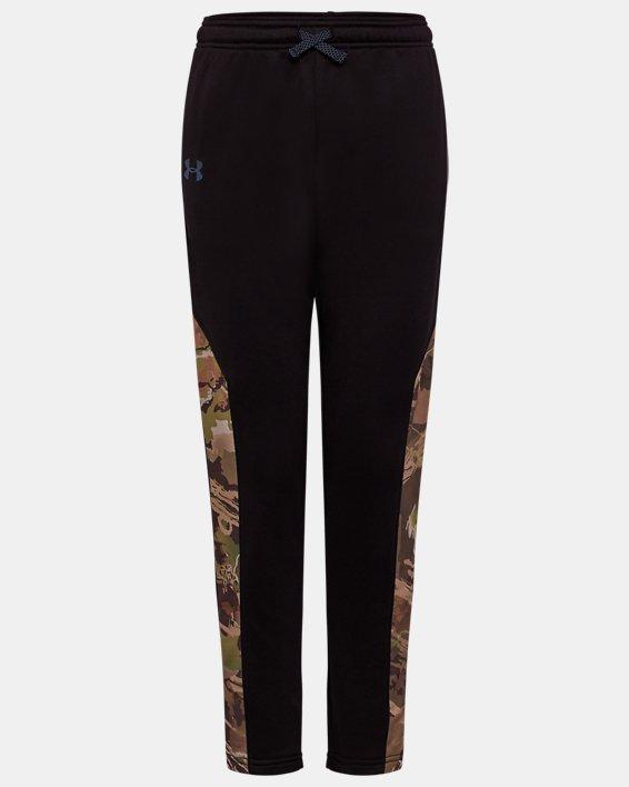 Boys' UA Elevation Pants, Black, pdpMainDesktop image number 0