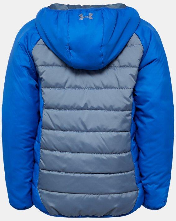Boys' UA Tuckerman Puffer Jacket, Gray, pdpMainDesktop image number 1