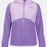 Deals on Under Armour Girls Canyon Rim Microfleece Jacket