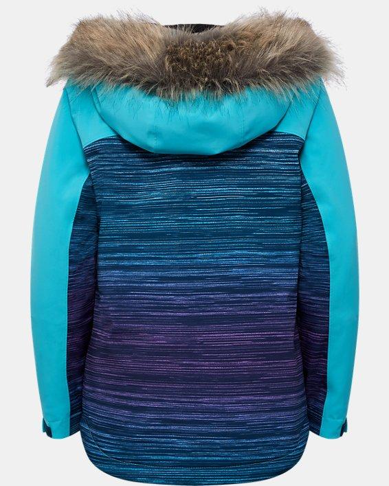 Girls' UA Orabelle Jacket, Blue, pdpMainDesktop image number 1