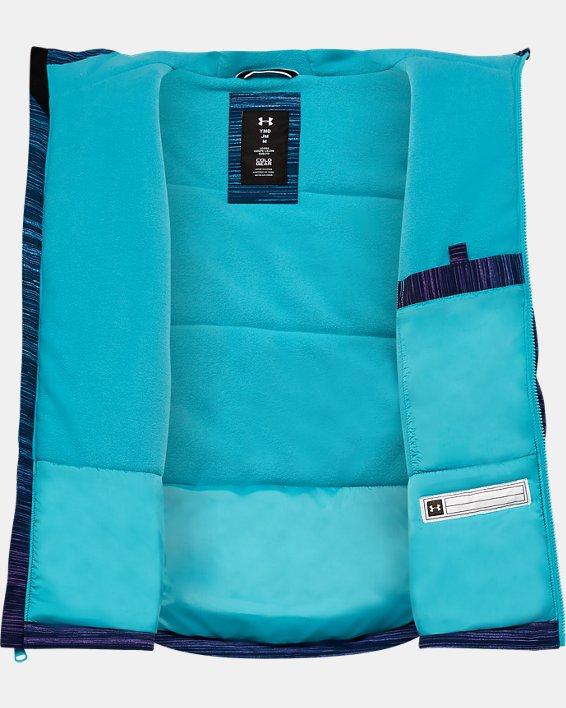 Girls' UA Orabelle Jacket, Blue, pdpMainDesktop image number 2