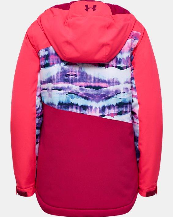 Girls' UA Rowyn Jacket, Pink, pdpMainDesktop image number 1