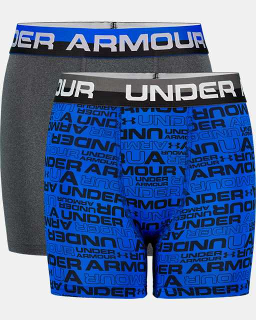 Boys' UA Wordmark Boxerjock® 2-Pack