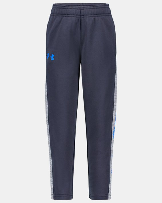 Boys' Pre-School Armour Fleece® Stampede Twist Pants, Gray, pdpMainDesktop image number 0