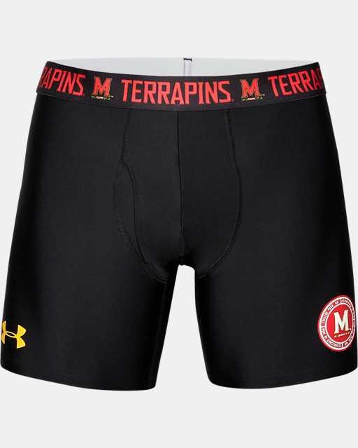 "Men's UA Tech™ 6"" Boxerjock® Collegiate"