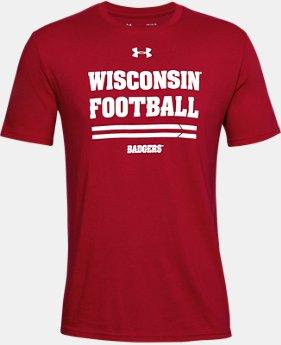 838eeeef34 Men's Red HeatGear Short Sleeve Shirts | Under Armour US