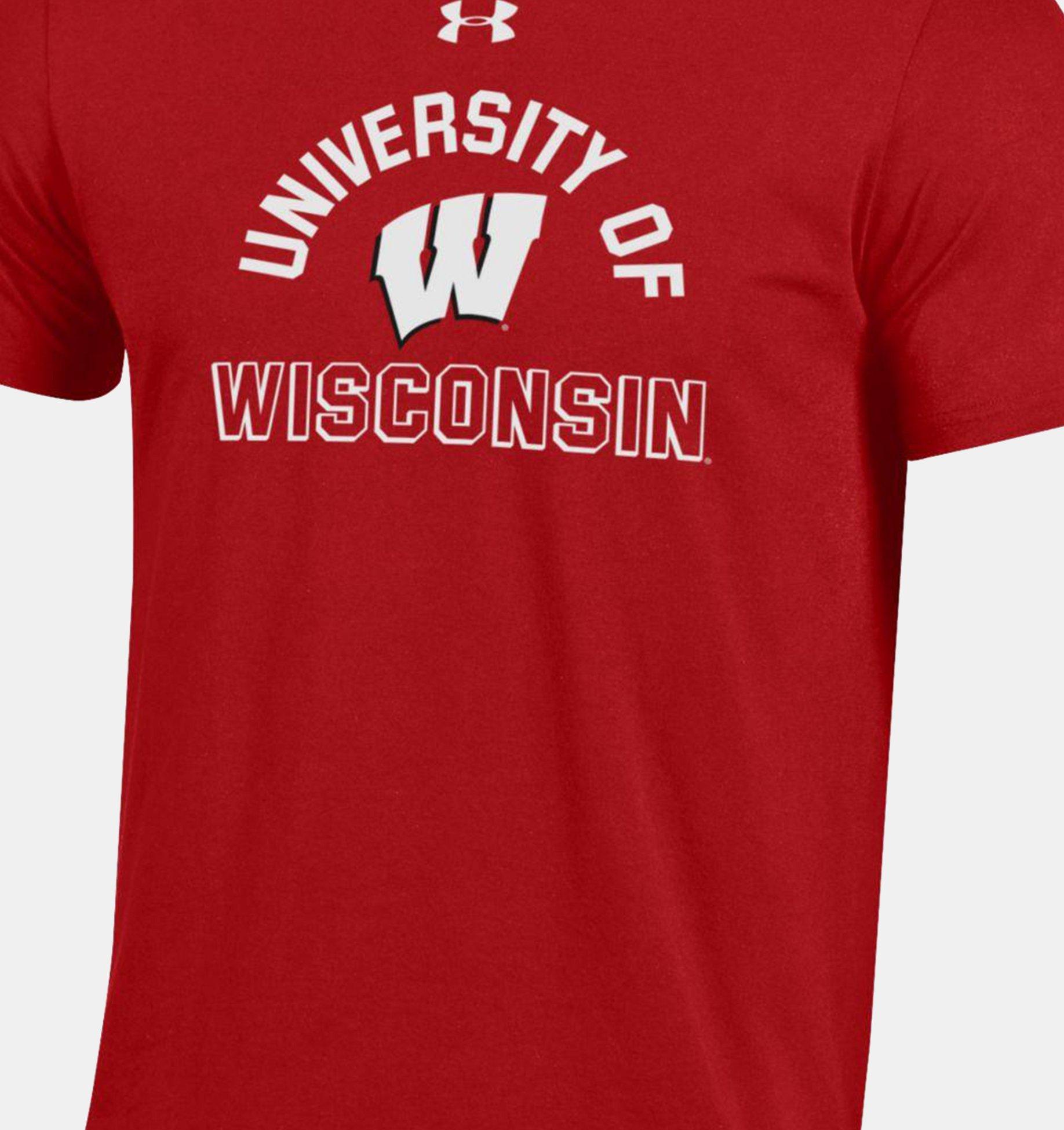 Underarmour Mens UA Performance Cotton Collegiate T-Shirt