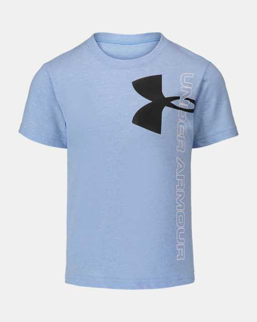 Boys' Pre-School UA Split Logo Short Sleeve