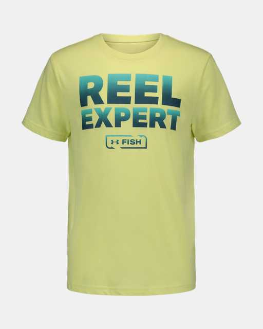 Boys' Pre-School UA Reel Expert Short Sleeve