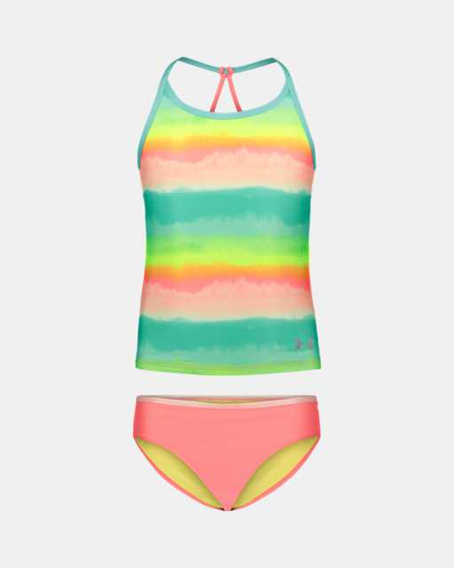 Girls' UA Ombre Tankini Swimsuit