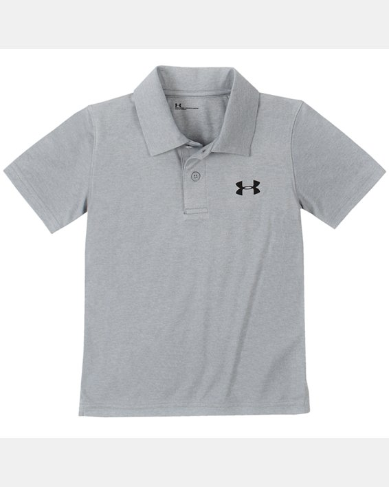 Boys' Infant UA Match Play Twist Polo, Gray, pdpMainDesktop image number 0