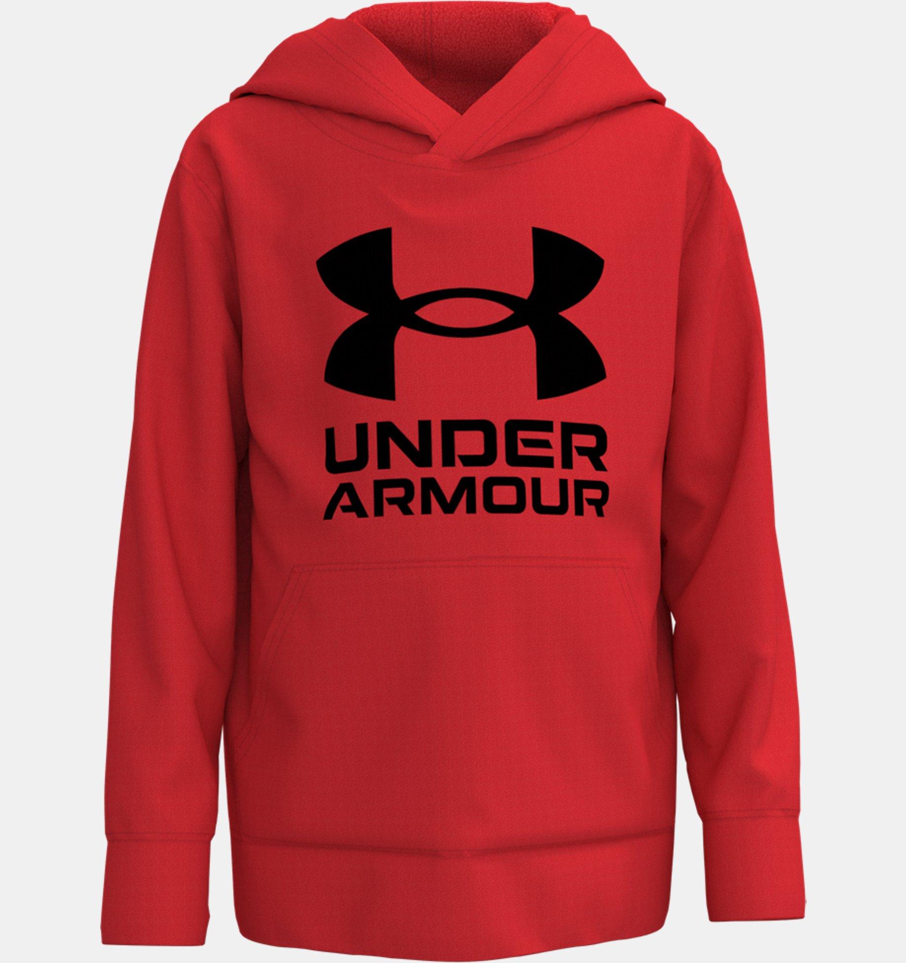 Underarmour Boys Toddler UA Symbol Hoodie