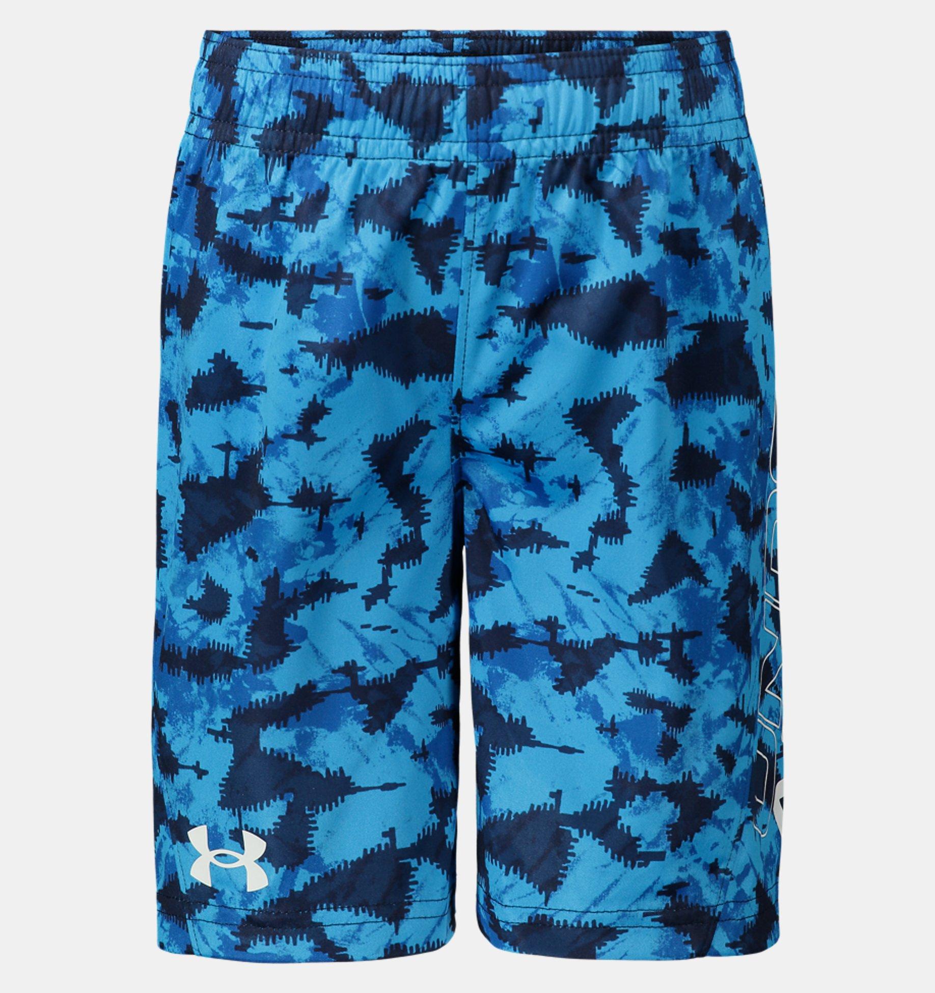 Underarmour Boys Toddler UA Tie-Dye Micro Boost Shorts