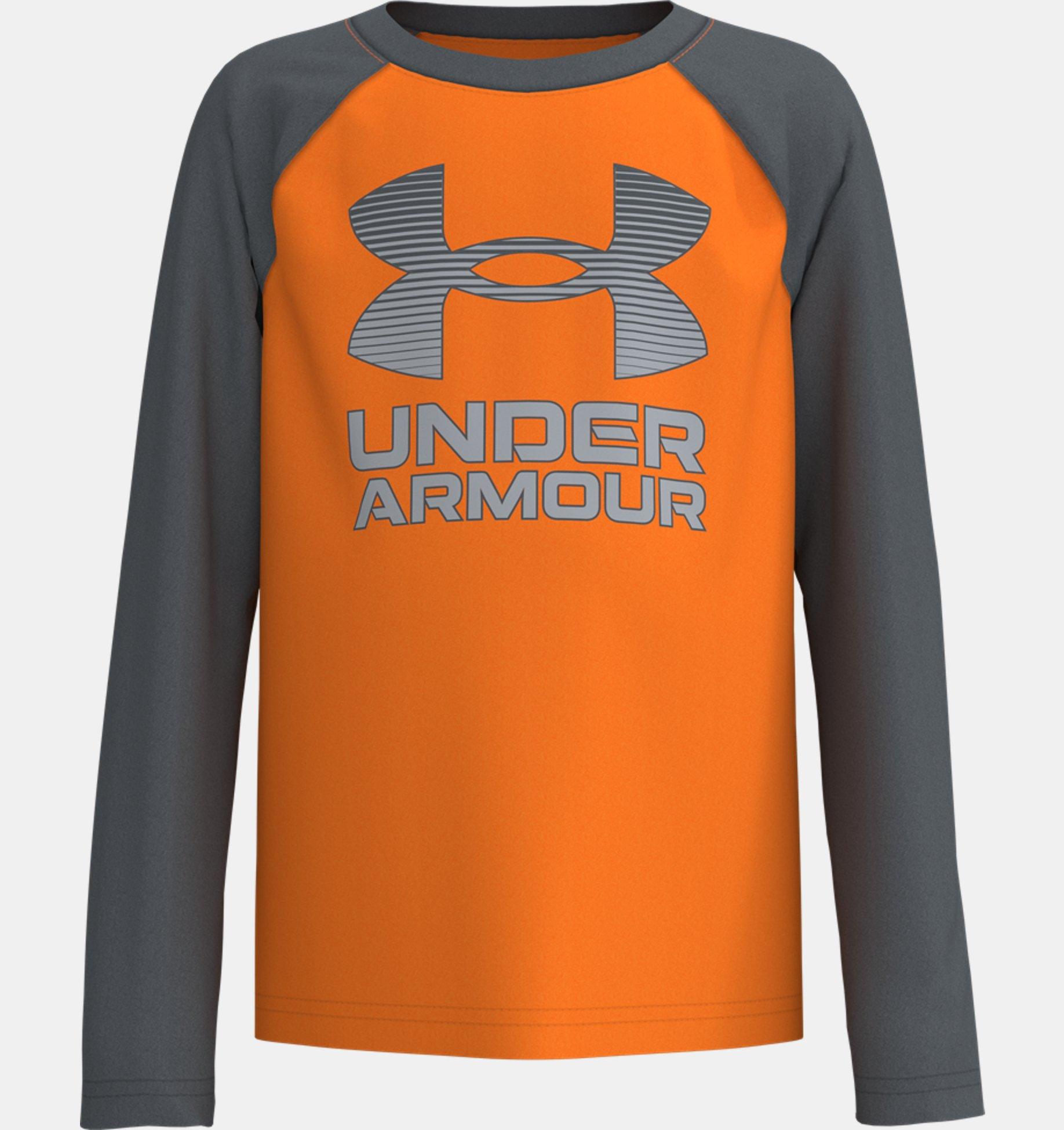 Underarmour Boys Pre-School UA Symbol Raglan Long Sleeve