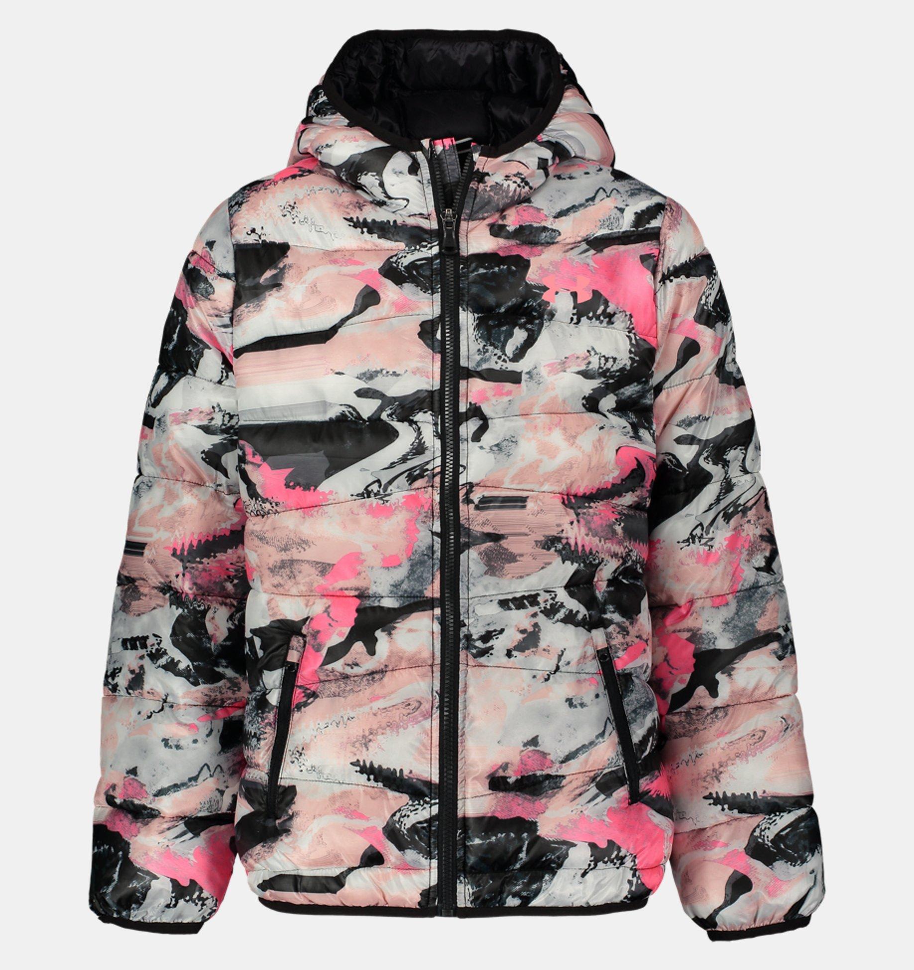 Underarmour Girls Pre-School UA Print Prime Puffer Jacket