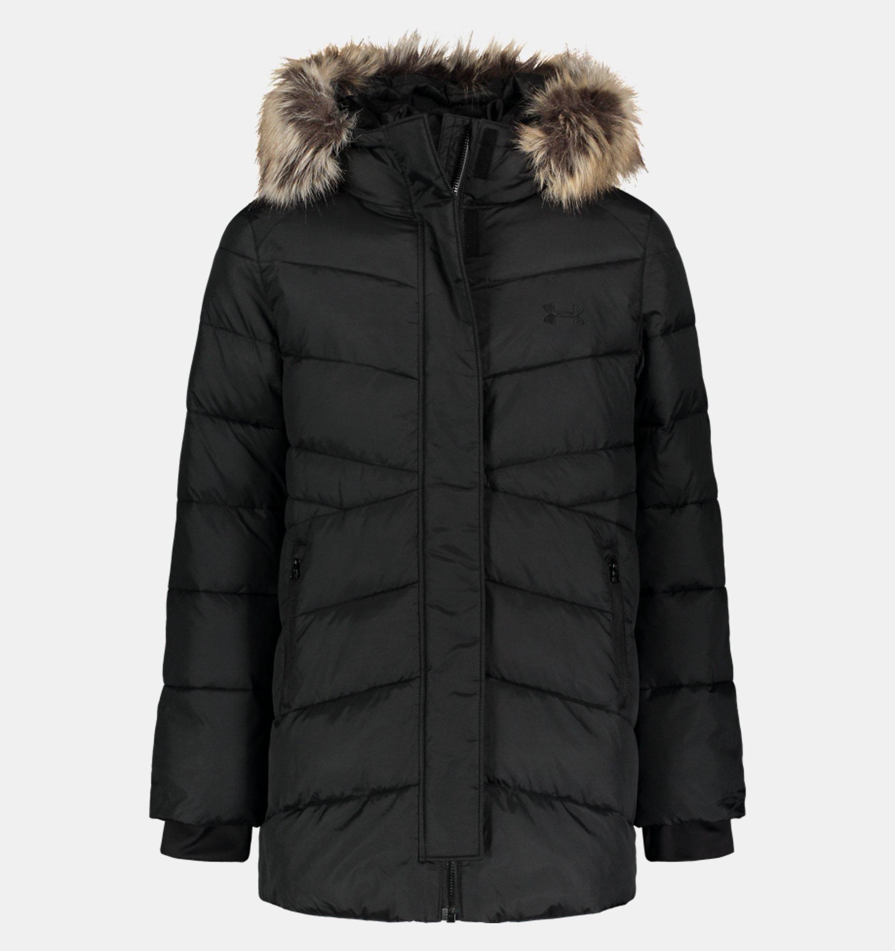 Underarmour Girls Pre-School UA Gigi Parka Puffer Jacket