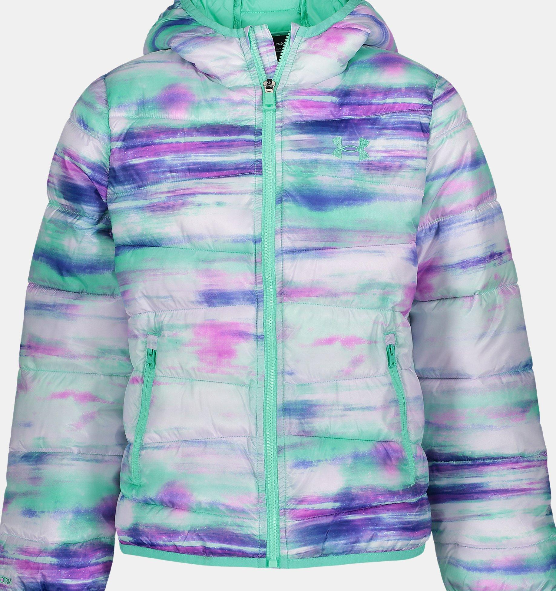 Underarmour Girls UA Print Prime Puffer Jacket