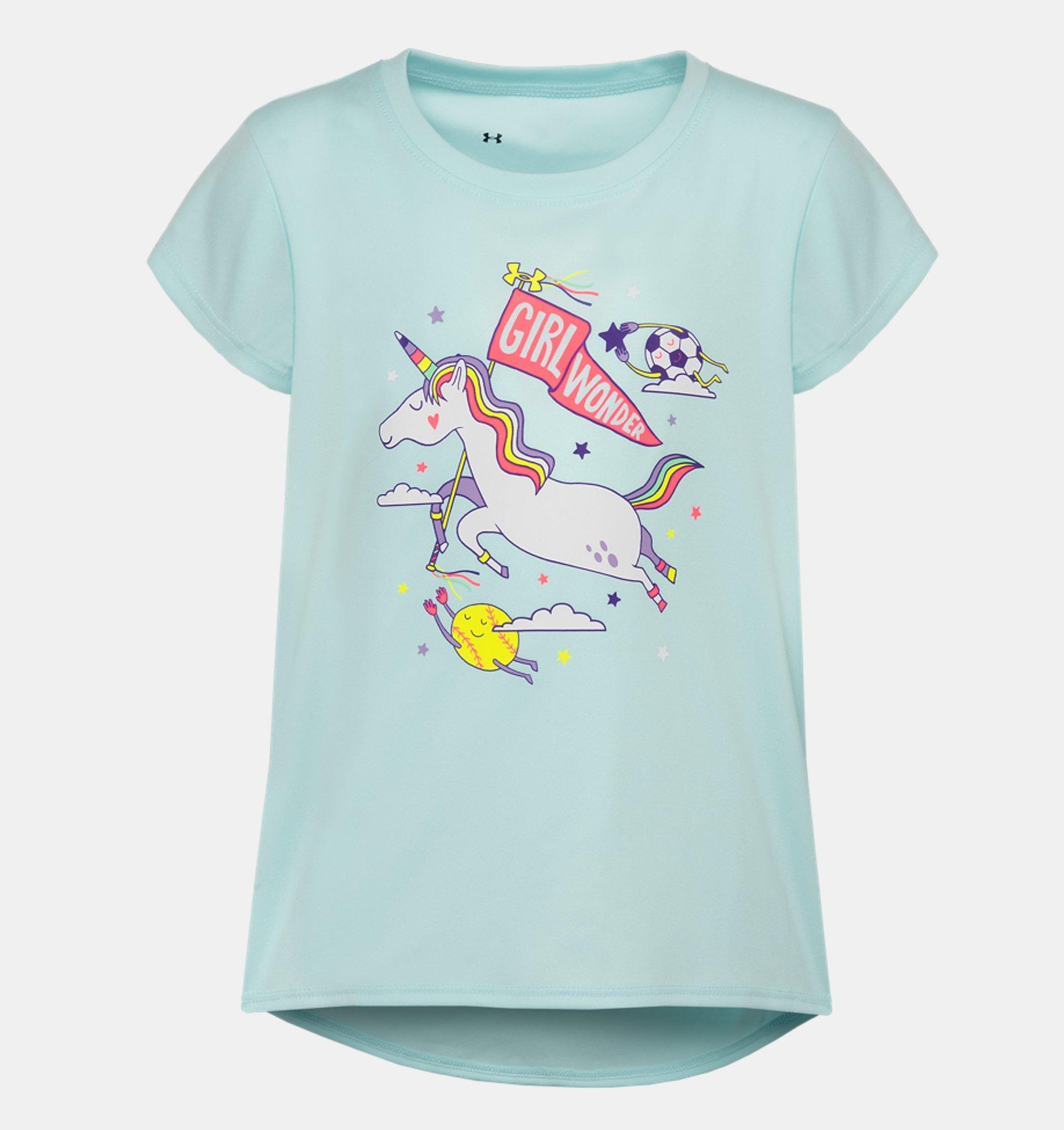 Underarmour Girls Toddler UA Dream Board Short Sleeve