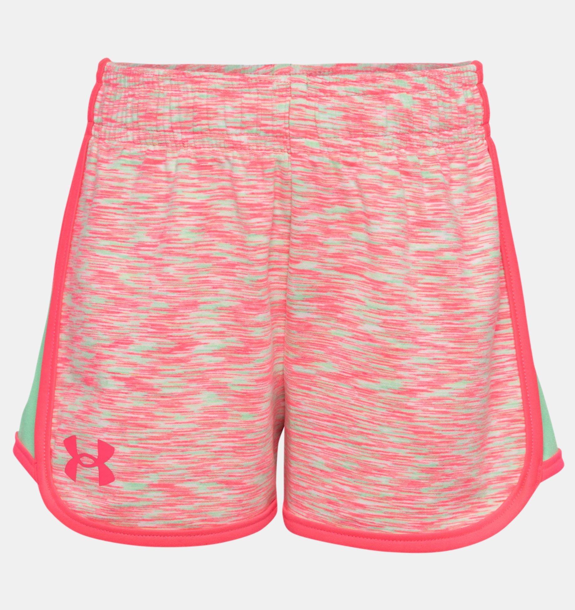 Underarmour Girls Pre-School UA Record Breaker Shorts
