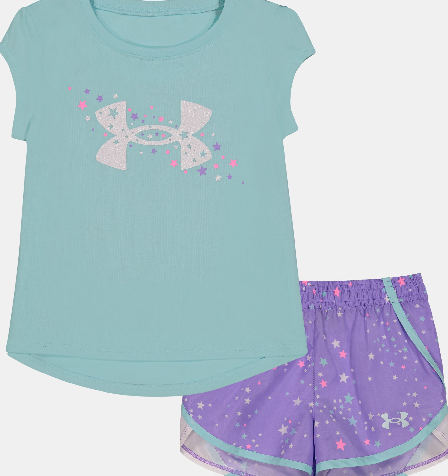 Underarmour Girls Infant UA Shooting Star Set