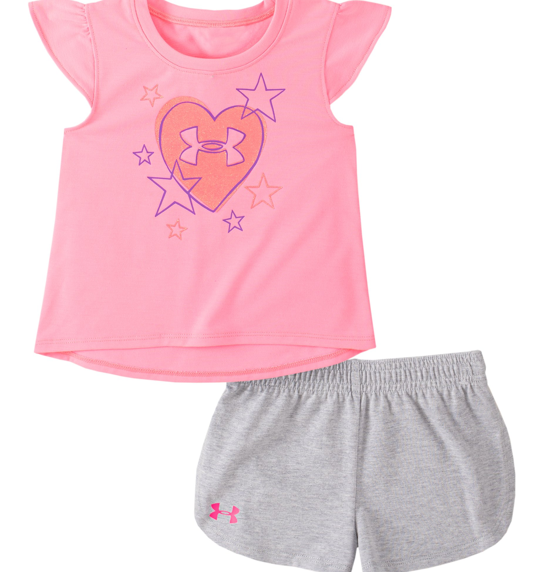 Underarmour Girls Toddler UA Star Crossed Set