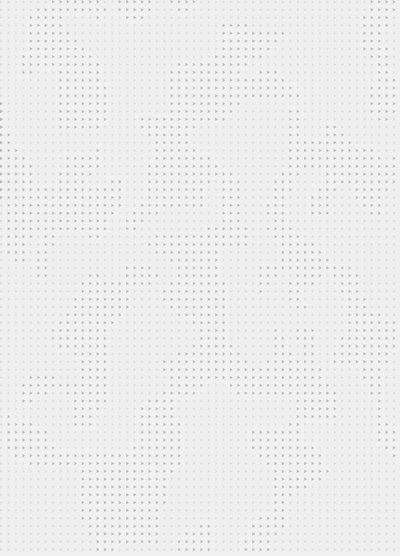 White background with tonal, pixelated pattern
