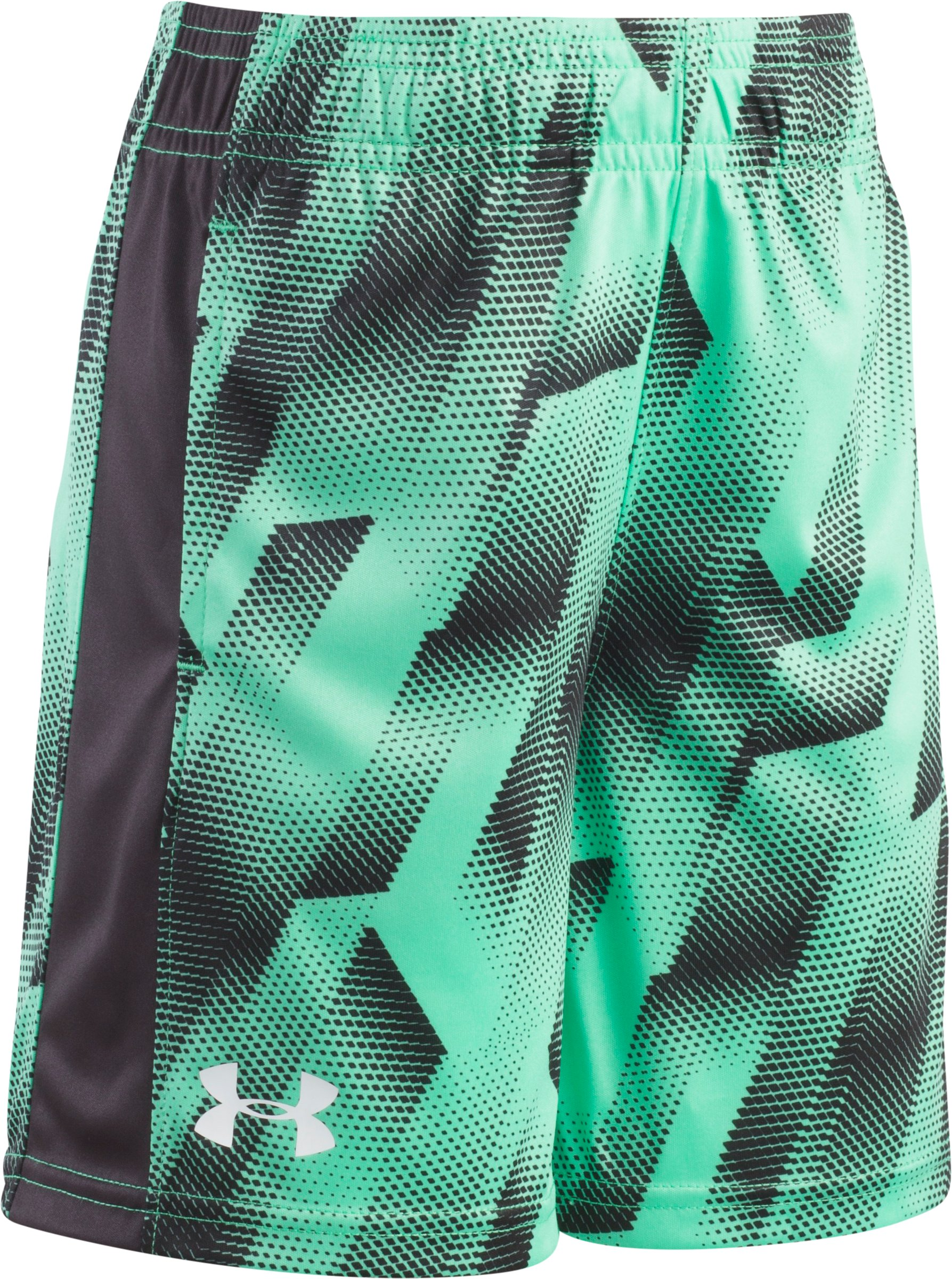 Boys' Pre-School UA Sandstorm Eliminator Shorts, VAPOR GREEN, Laydown