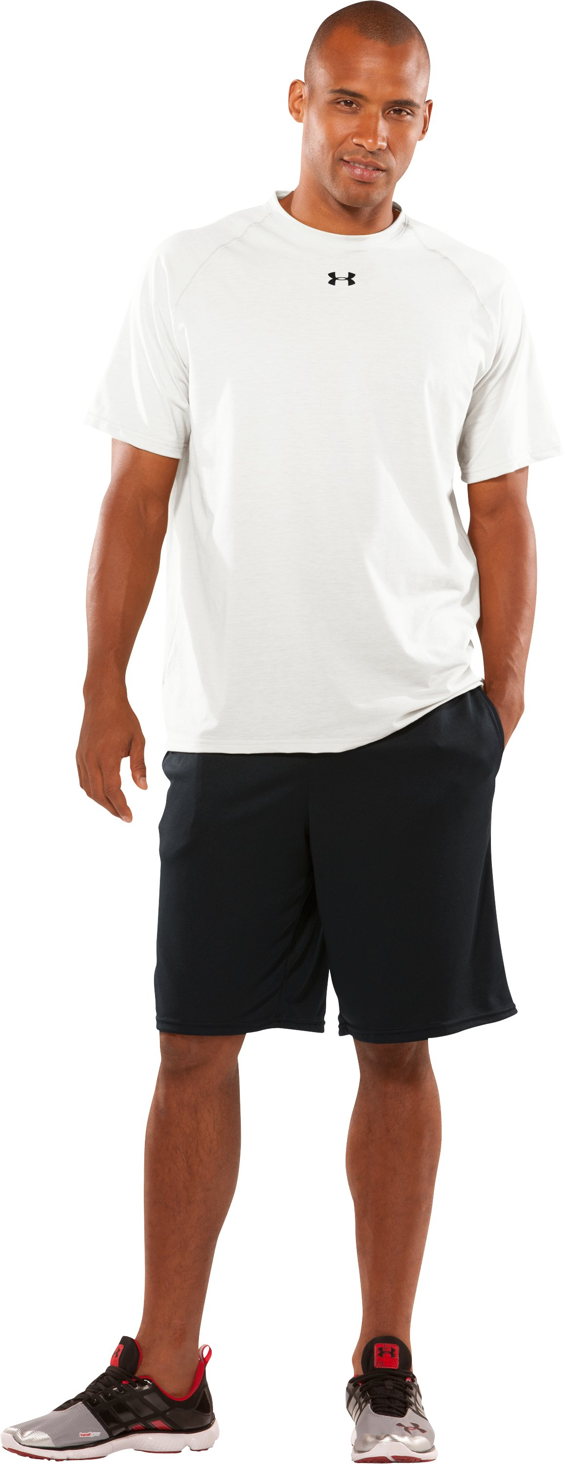 Men's Team UA Tech™ Short Sleeve T-Shirt, White, Front