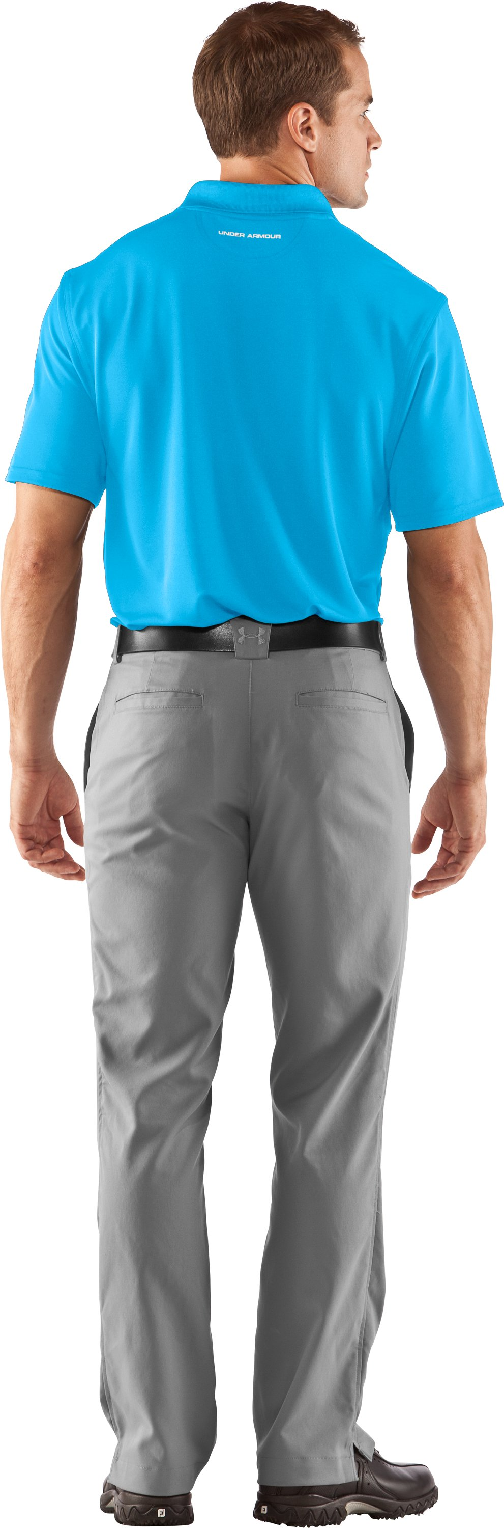 Men's UA Performance Polo, Cortez, Back