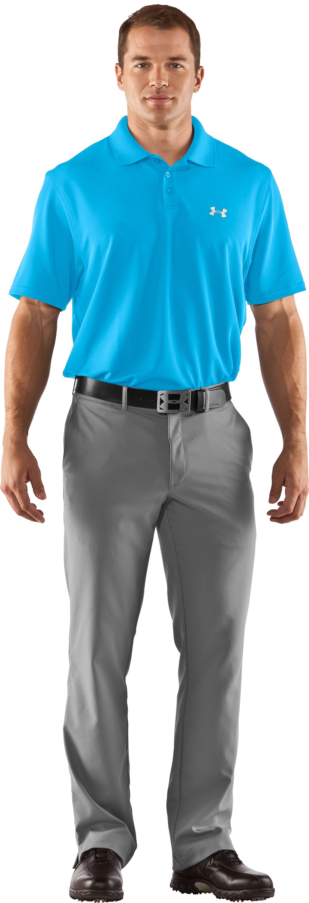 Men's UA Performance Polo, Cortez, Front
