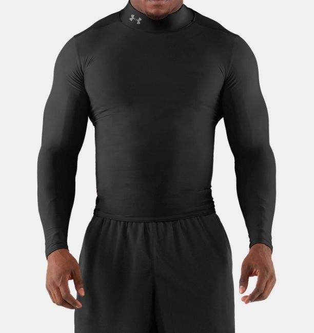 Under Armour Coldgear Compression Mock Long Sleeve T Shirts
