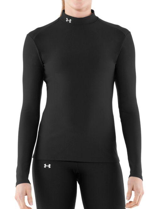 Women s UA ColdGear® Long Sleeve Compression Mock  979bf1880a