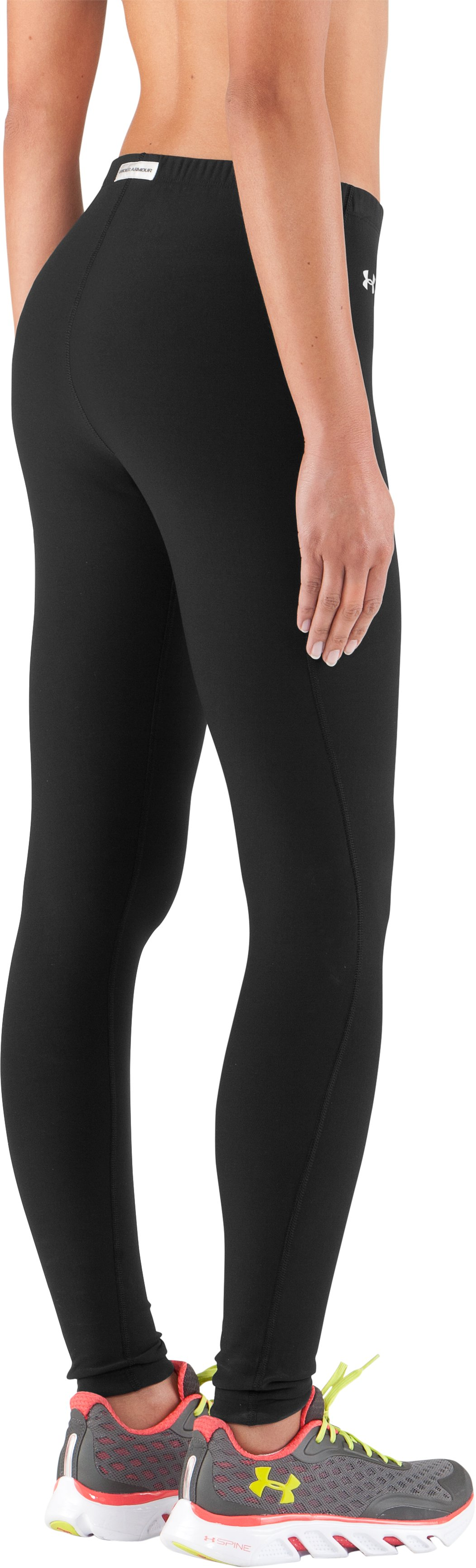 Women's ColdGear® Frosty Compression Tights, Black