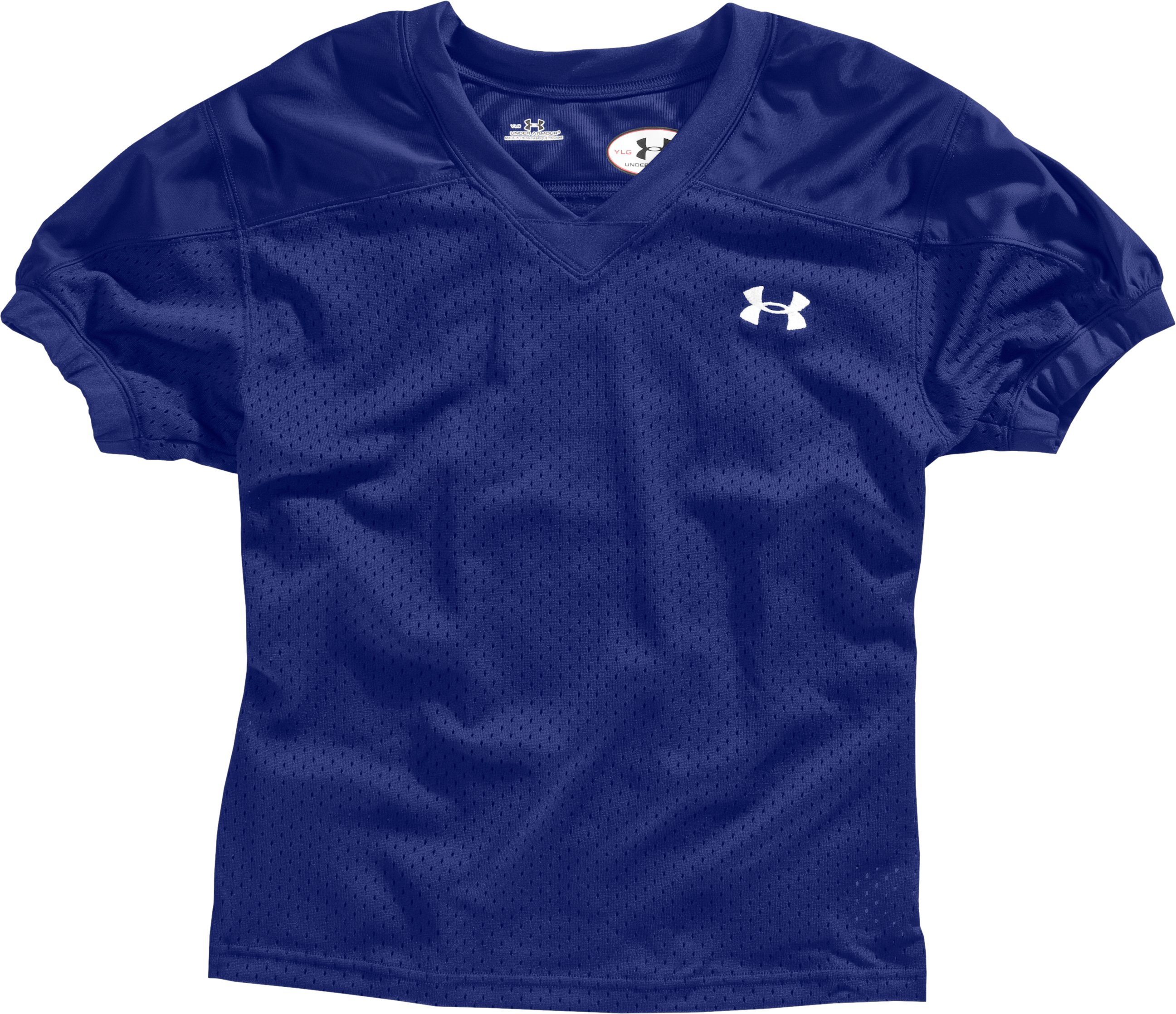 Boys' College Park Jersey, Royal, Laydown