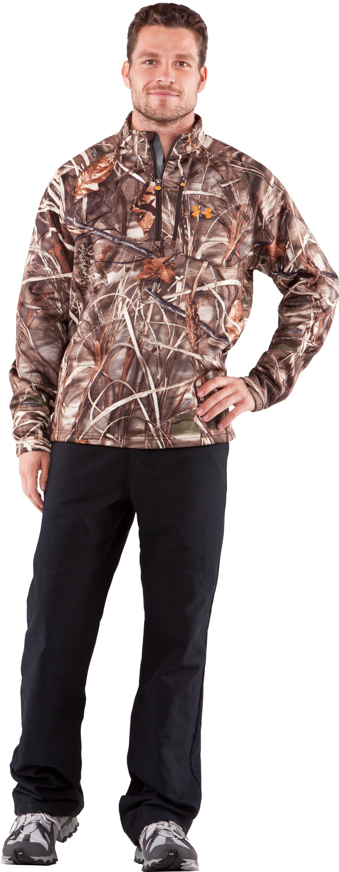 Men's Camo Hurlock Fleece Pullover | Under Armour US