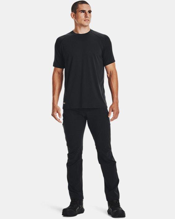 Men's UA Tactical Tech™ Short Sleeve T-Shirt, Black, pdpMainDesktop image number 3