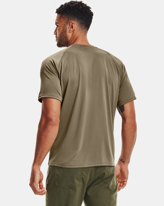 T-Shirt à manches courtes UA Tactical Tech™ pour homme, Brown, pdpMainDesktop image number 4